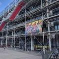 法國-巴黎龐畢度藝術文化中心 Musee National d'Art Moderne, Centre Georges Pompidou.