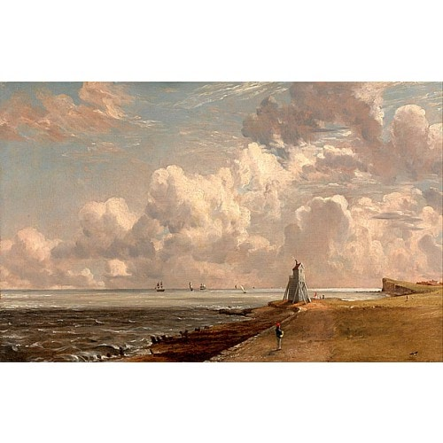 哈里奇.燈塔和筆架山 Harwich. The Low Lighthouse and Beacon Hill
