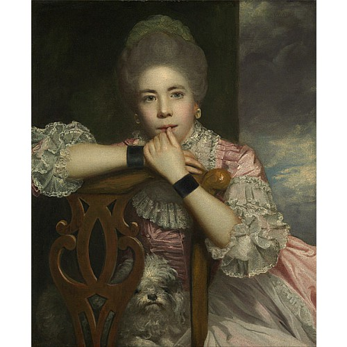 阿賓頓夫人像 Mrs. Abington as Miss Prue in Congreve 's Love for Love